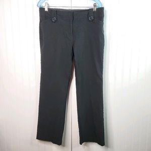 Soho Apparel Black Zip Up Stretch Pants Size 14P